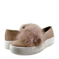 Women's Shoes Soda Hestia S Faux Fur Slip On Loafer Fashion Sneakers Mauve