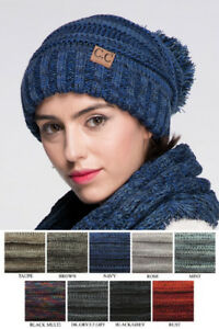 Image is loading ScarvesMe-CC-Oversize-Slouchy-Multi-Color-Slouchy-Beanie- c5d1204a52b7