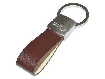 Genuine Land Rover Leather Loop Key Ring
