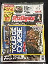 MAGAZINE RALLYES MAGAZINE N°262 SEPT OCT 2015 GUIDE TOUR CORSE RALLYE RALLY WRC