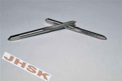 (2pcs) 4mm x 0.7 Metric HSS Right hand Tap M4 x 0.7mm Pitch brand new