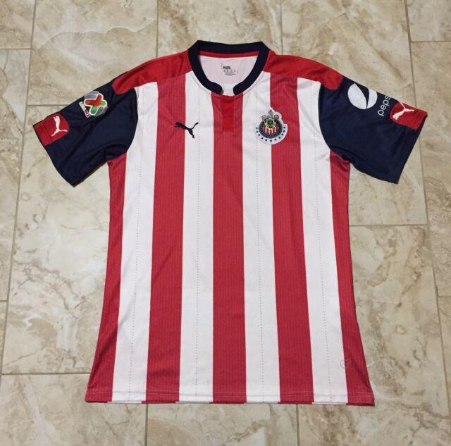 c21df8f0d4a Puma Club Deportivo De Guadalajara Chivas Jersey Size Men's XL