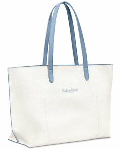 b549803433168 Image is loading NWT-Calvin-Klein-Fragrances-Collection-Large-Tote-Bag-