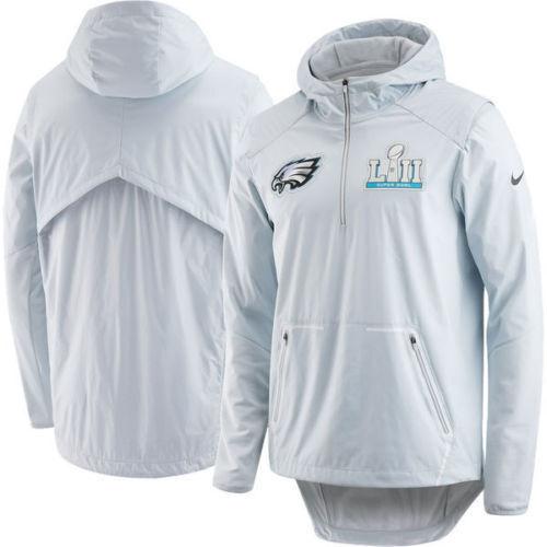 huge selection of 0d305 629d3 Nike Philadelphia Eagles Super Bowl LII 52 Media Jacket Av9980 043 Mens XXL