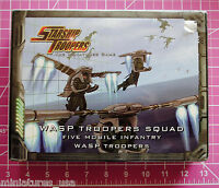 Starship Troopers Wasp Troopers Squad, Mobile Infantry - Metal - Rare &