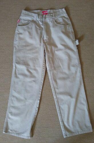 Vintage Shortys Skateboards Khaki Pants Wide Legs