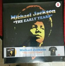 Michael Jackson The Early Years Limited Edition Colored Vinyl and Sm T-shirt Set