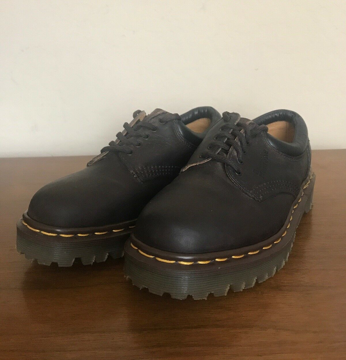 Doc Dr. Martens Original Made In England Leather shoes 8053 Brown Men's US sz 4