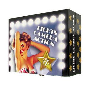 Maquillaje-Set-W7-Paleta-Cosmetico-Labios-Ojos-Rostro-Luces-Camara-Action