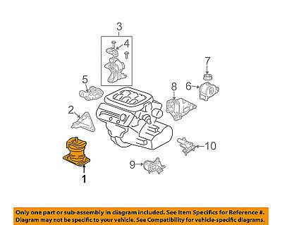 Acura Honda Oem 03 06 Mdx Engine Motor Mount Torque Strut 50800s3va03 Ebay