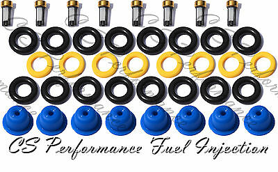 Fuel Injector Repair Service Kit Seals Filters Pintle Caps MARK VIII CSKBO18