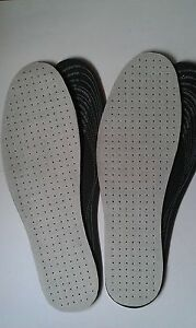 2 X PAIRS OF ODOUR EATING INSOLES. CHARCOAL FOR EXTRA ODOUR CONTROL.ONE SIZE