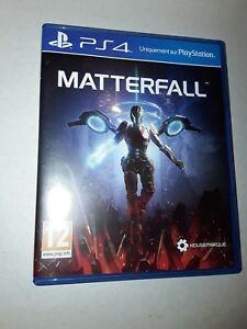 Matterfall  - Jeu PS4 déblisté mais comme neuf  - playstation 4