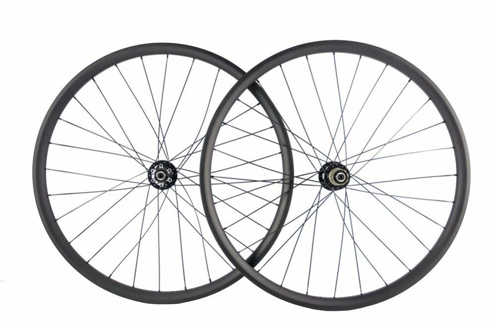 26er Carbon wheelset 40mm width mountain bicycle carbon wheel tubeless for AM DH