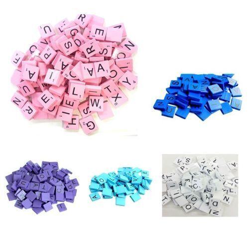 Scrabble Tiles Full Size 1-2000 Set Letters for Art & Crafts Scrapbook Game scrb