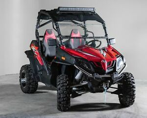 Details about CF Moto Z Force Full Tilting UTV Windshield 3/16