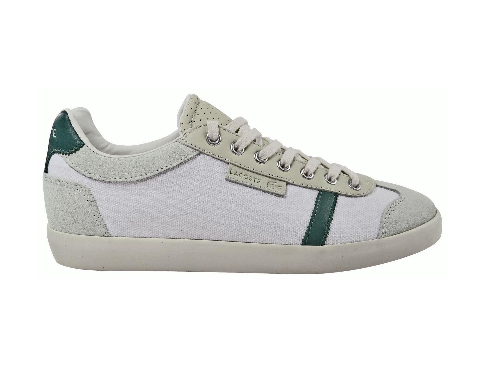 Lacoste Brendel 2 SRM OFF white/green Schuhe/Sneaker weiß Größenauswahl!