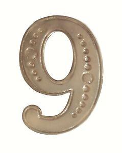 Number 9 Nickel-Plated Orange Order Collarette Character
