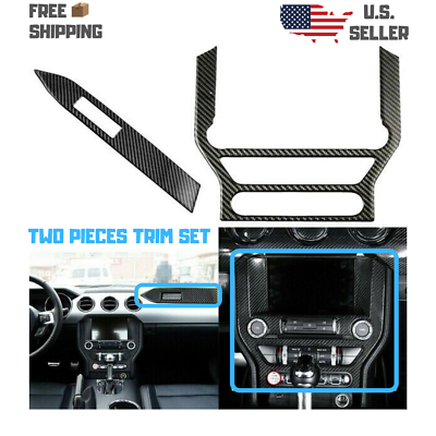 Tbest Dashboard Panel Trim,Dashboard Panel Frame,Carbon Fiber Decoration,Carbon Fiber Instrument Panel Trim Frame Decoration Fit for HDA CRV 2007‑2011