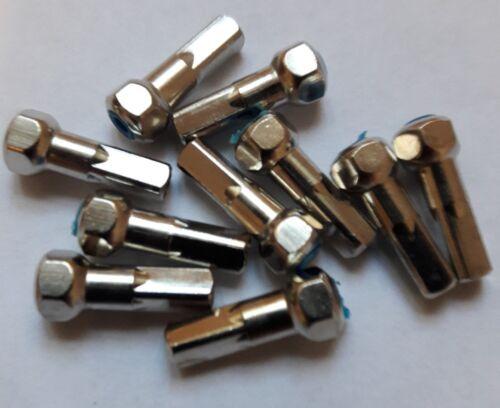 Alpina ABS 15 mm Tétons tête ronde Pack De 10 6-verso rouge 6 pans