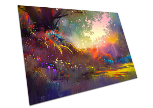 COLOURFUL LANDSCAPE WALL ART LARGE A1 POSTER PRINT 33 X 23 INCH