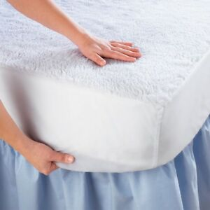 King-Size-Waterproof-Mattress-Pad-Protector-Bed-Topper-Cover-Hypoallergenic-Soft