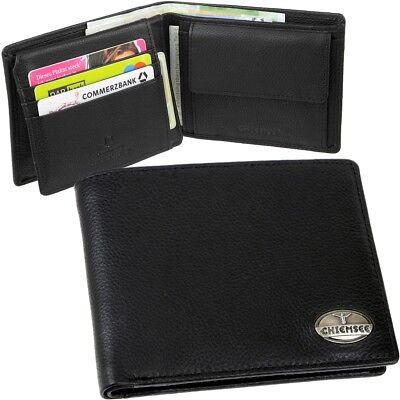 Chiemsee Gazet Wallet portefeuille BLACK noir NEUF
