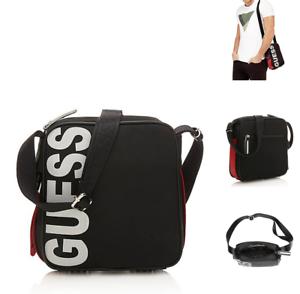 3315983f9e GUESS Sport Vibes Crossbody Bag 6286 CITY Medium Canvas Shoulder ...