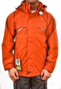 Regatta-da-uomo-Monumento-Giacca-impermeabile-color-ruggine-arancione-ISOTEX