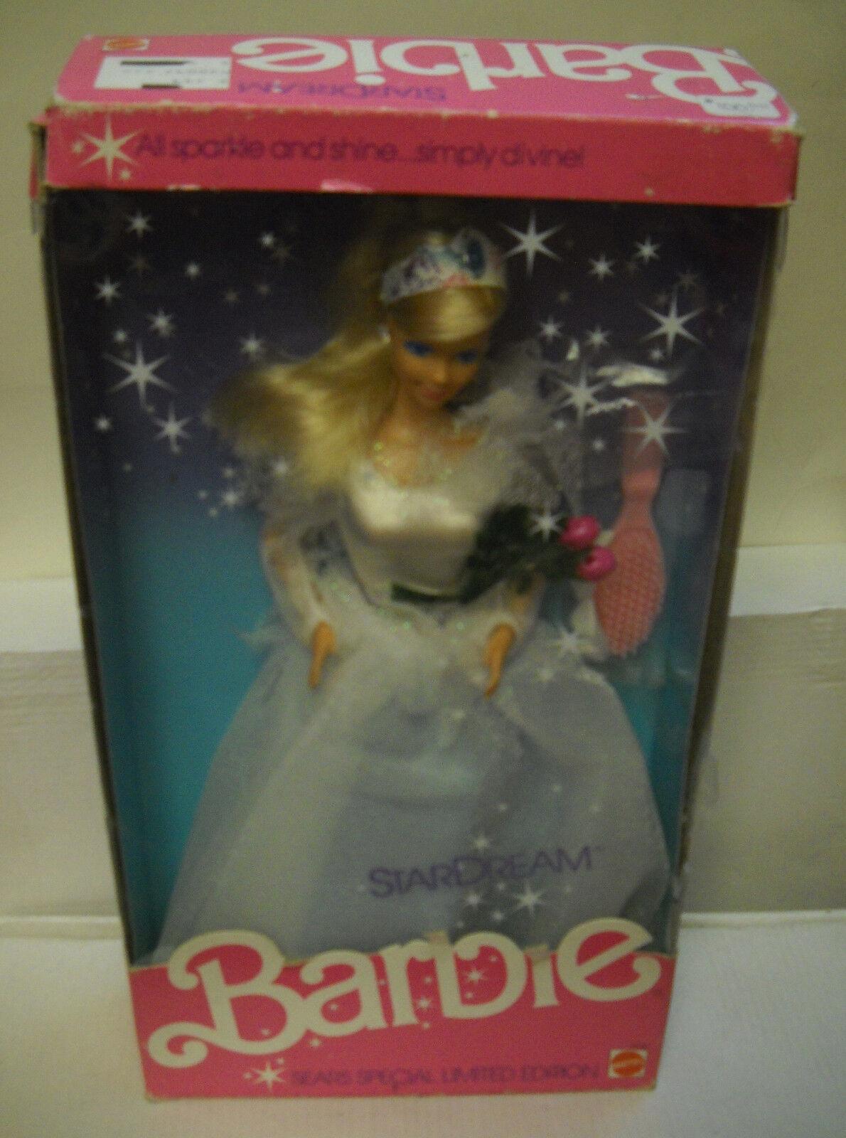 Nrfb Mattel Sears Stardream Barbie Edición Limitada Especial Muñeca