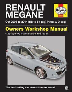 H5955-Renault-Megane-2008-to-2014-Haynes-Repair-Manual
