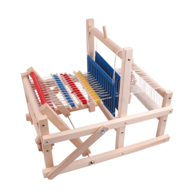 Hand Wool Knit Knitting Loom Tool For Sweater Diy Weave Educational