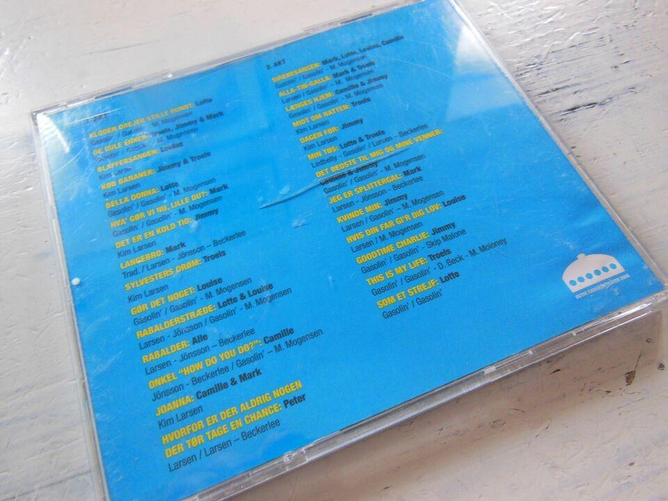 Teaterkoncerten GASOLIN (2 disc): Østre Gasværk, rock