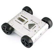DIY 4WD Aluminum Mobile Smart Robot Car Platform Kit For Arduino