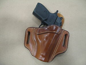 Details about Polish P64 9x18 OWB Leather 2 Slot Molded Pancake Belt  Holster CCW TAN RH