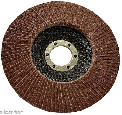 Fächerschleifscheibe für Metall, Schleifscheibe Korn 60