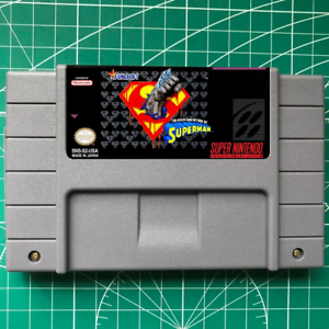 The-Death-And-Return-Of-Superman-SNES-Game-USA-version-FREE-SHIPPING