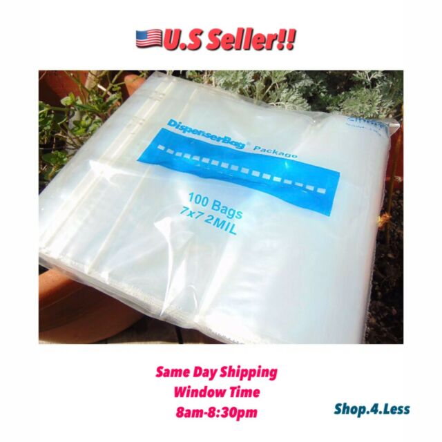 """1000~ 8x8/"""" 2 Mil Clear Zip Reclosable Zipper Lock Seal Poly Bag Retail Packing"""