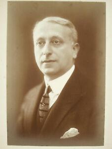 Henri Manuel 1920 Portrait De Louis-alfred Natanson Dit Alfred Athis Dramaturge Doux Et LéGer