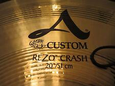"""Zildjian A Custom Rezo 20"""" Crash Cymbal (only used twice)"""