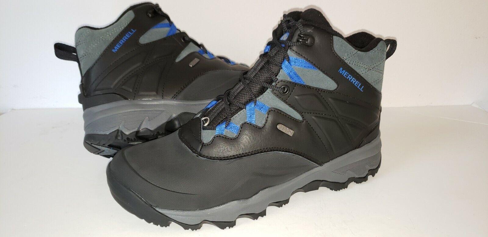 MM20 Nueva aventura  Merrell Thermo 6  WP botas Senderismo Trekking + Hielo Hombre 9 Negro  los nuevos estilos calientes