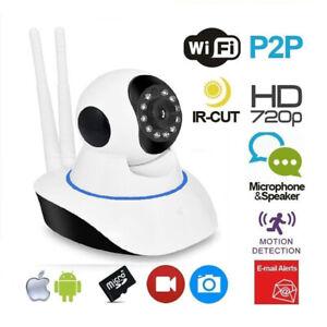TELECAMERA-FULL-HD-720P-WIRELESS-IP-MOTORIZZATA-360-VIDEOSORVEGLIANZA-WIFI