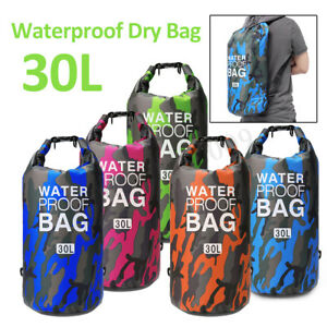 d7da50a2a4 20 30L Sport Waterproof Dry Bag Backpack Pouch Floating Boating ...