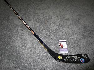 BOBBY HULL Chicago Blackhawks SIGNED Autographed Hockey Stick JSA COA HOF 1983