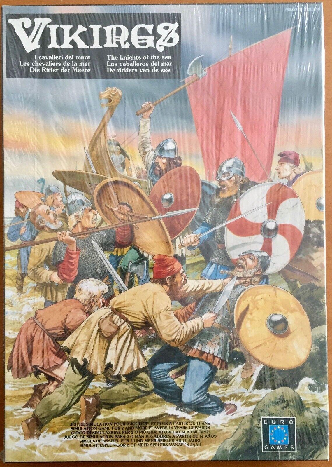 Vikings  aka Viking Raiders  - Eurogames 1987 - Blisterato sealed Shrinkwrapped