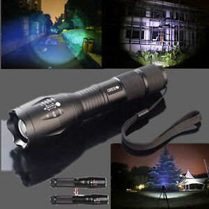 2600LM-CREE-XM-L-T6-LED-Rechargeable-Zoomable-Flashlight-Light-Lampade-e-Torce