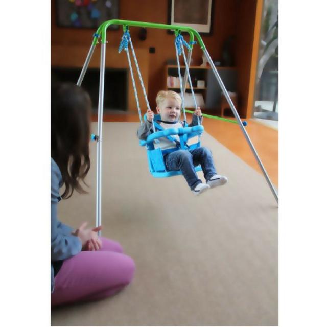 Swing Kids Outdoor Indoor Toddler Baby Seat Backyard Swingset