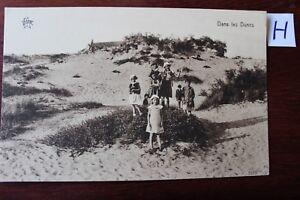 Carte Postale Vue Carte La France Dans Les Dunes-afficher Le Titre D'origine GuéRir La Toux Et Faciliter L'Expectoration Et Soulager L'Enrouement