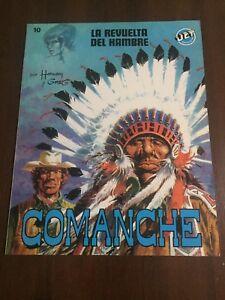 COMANCHE THE REVOLT OF HUNGER - COMIC BOOK - JET BRUGUERA 10 - 1983 - SPAIN 8410018005904