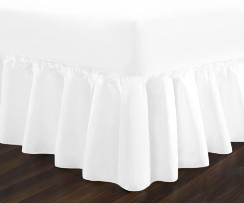 Luxury Non Iron Standard /& Extra Deep Fitted Valance Sheets Single Double King